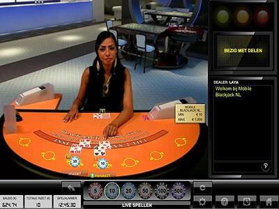live blackjack gokken
